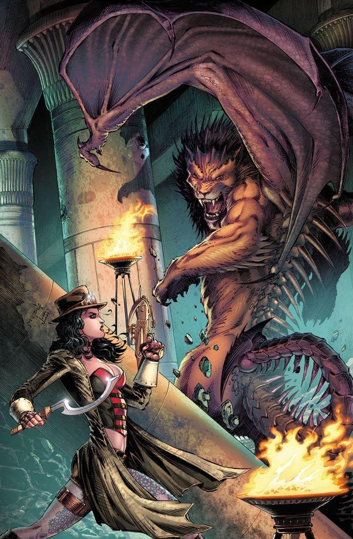 Grimm Fairy Tales Van Helsing vs. The Mummy of Amun Ra #2 (Cover B Jason Metcalf)