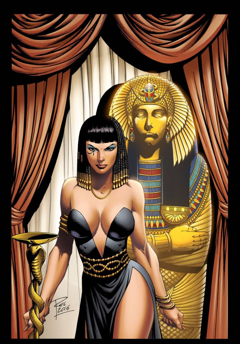 Grimm Fairy Tales Van Helsing vs. The Mummy of Amun Ra #2 (Cover C Renato Rei)