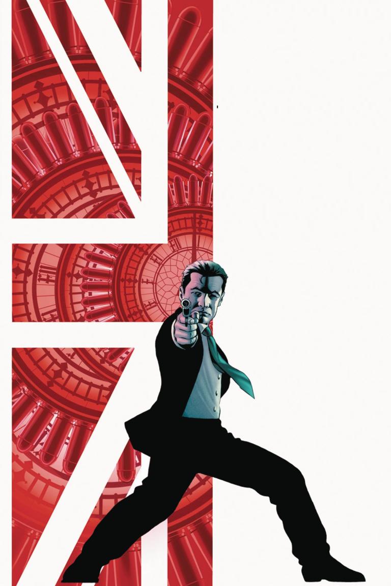 James Bond Black Box #1 (Cover J John Cassaday Virgin Variant)