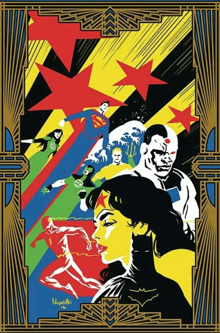 Justice League #10 (Cover B Yanick Paquette)
