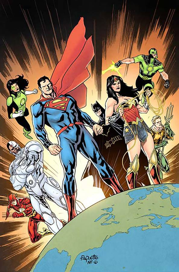 Justice League #14 (Cover B Yanick Paquette)