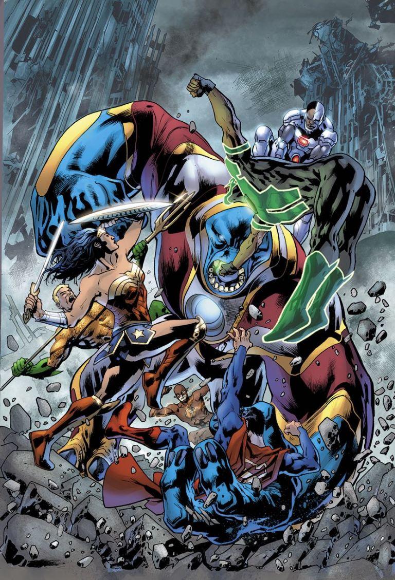 Justice League #21 (Cover A Bryan Hitch)