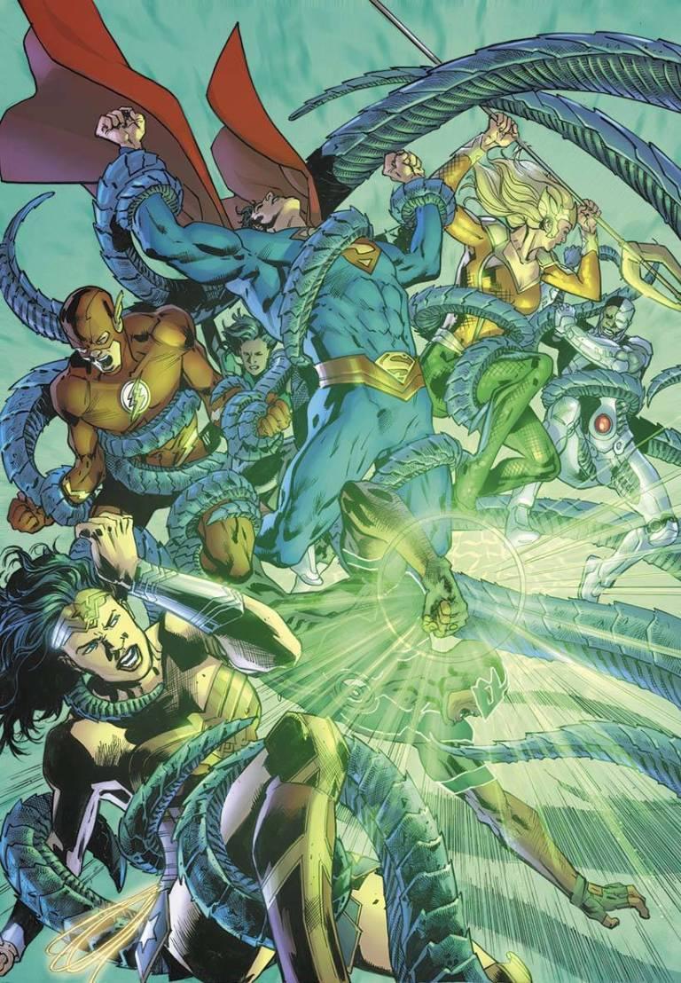 Justice League #25 (Cover A Bryan Hitch)