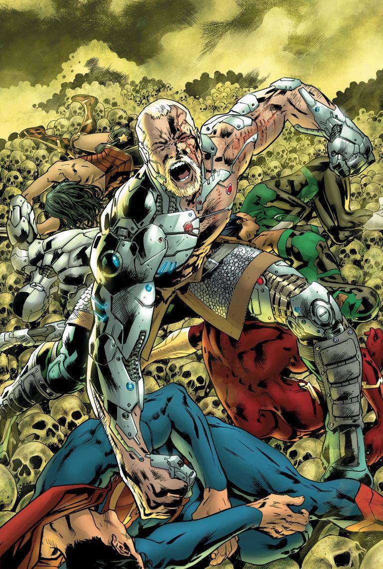 Justice League #28 (Cover A Bryan Hitch)