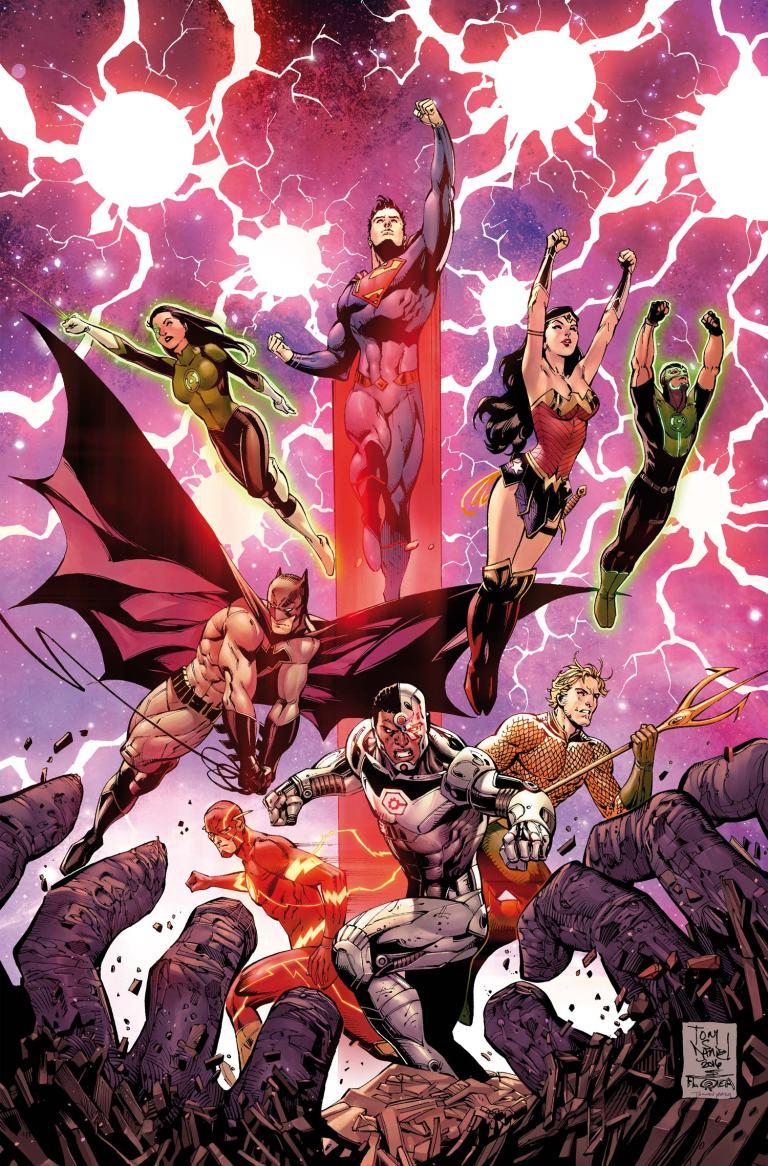 Justice League #3 (Cover A Tony S. Daniel & Mark Morales)