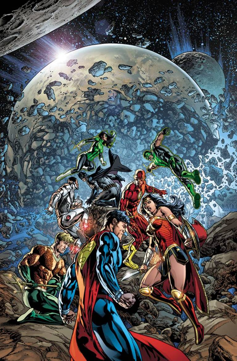 Justice League #4 (Cover A Tony S. Daniel & Sandu Florea)