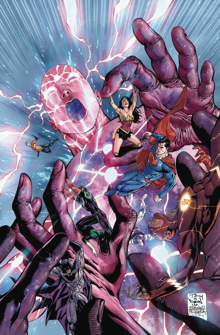 Justice League #5 (Cover A Tony S. Daniel & Sandu Florea)