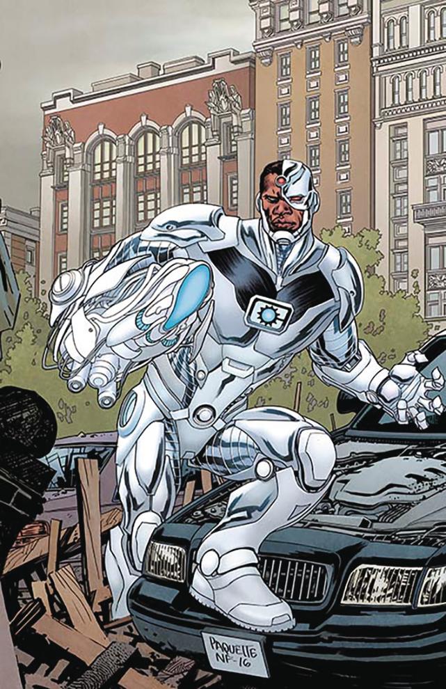 Justice League #5 (Cover B Yanick Paquette)