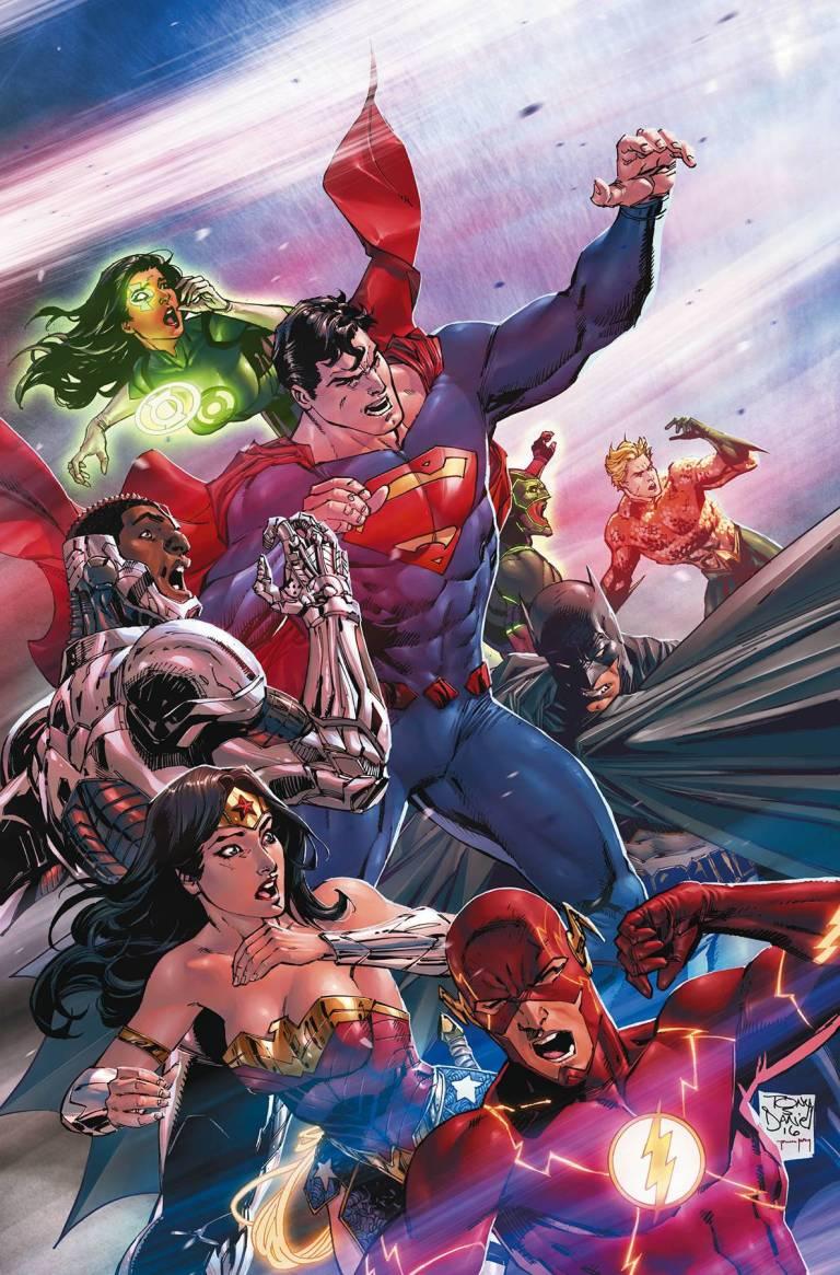 Justice League #6 (Cover A Tony S. Daniel)