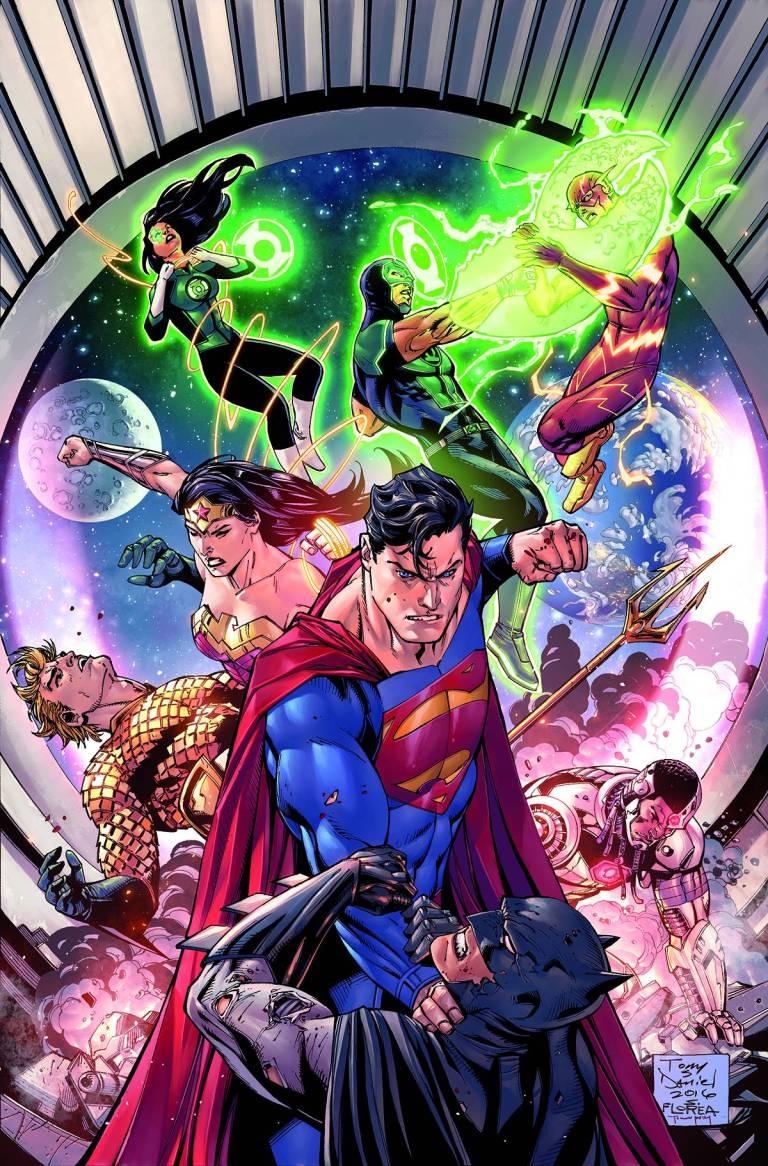 Justice League #7 (Cover A Tony S. Daniel & Mark Morales)