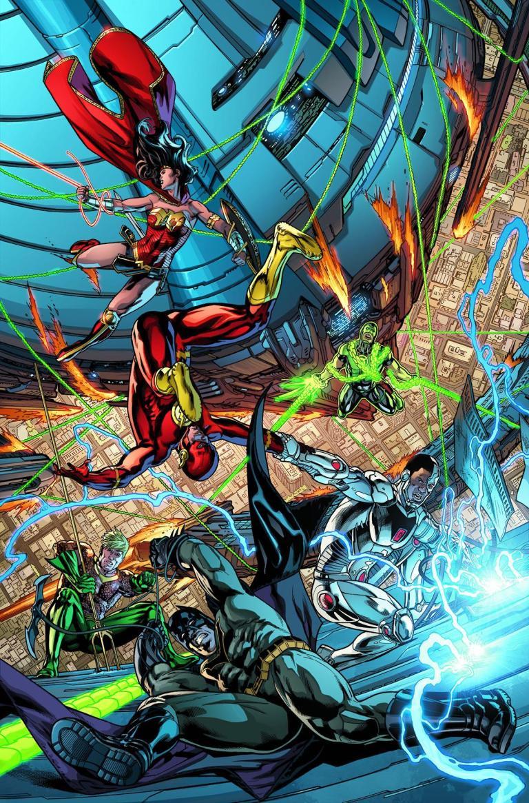 Justice League #8 (Cover A Fernando Pasarin & Matt Ryan)