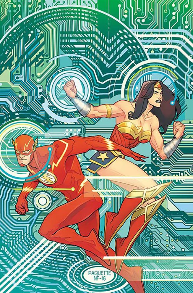 Justice League #9 (Cover B Yanick Paquette)
