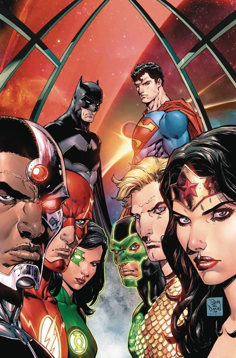 Justice League Rebirth #1 (Cover A Tony S. Daniel)