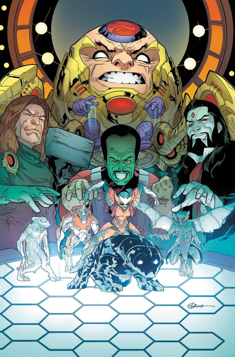 Monsters Unleashed #4 (R.B. Silva Cover)