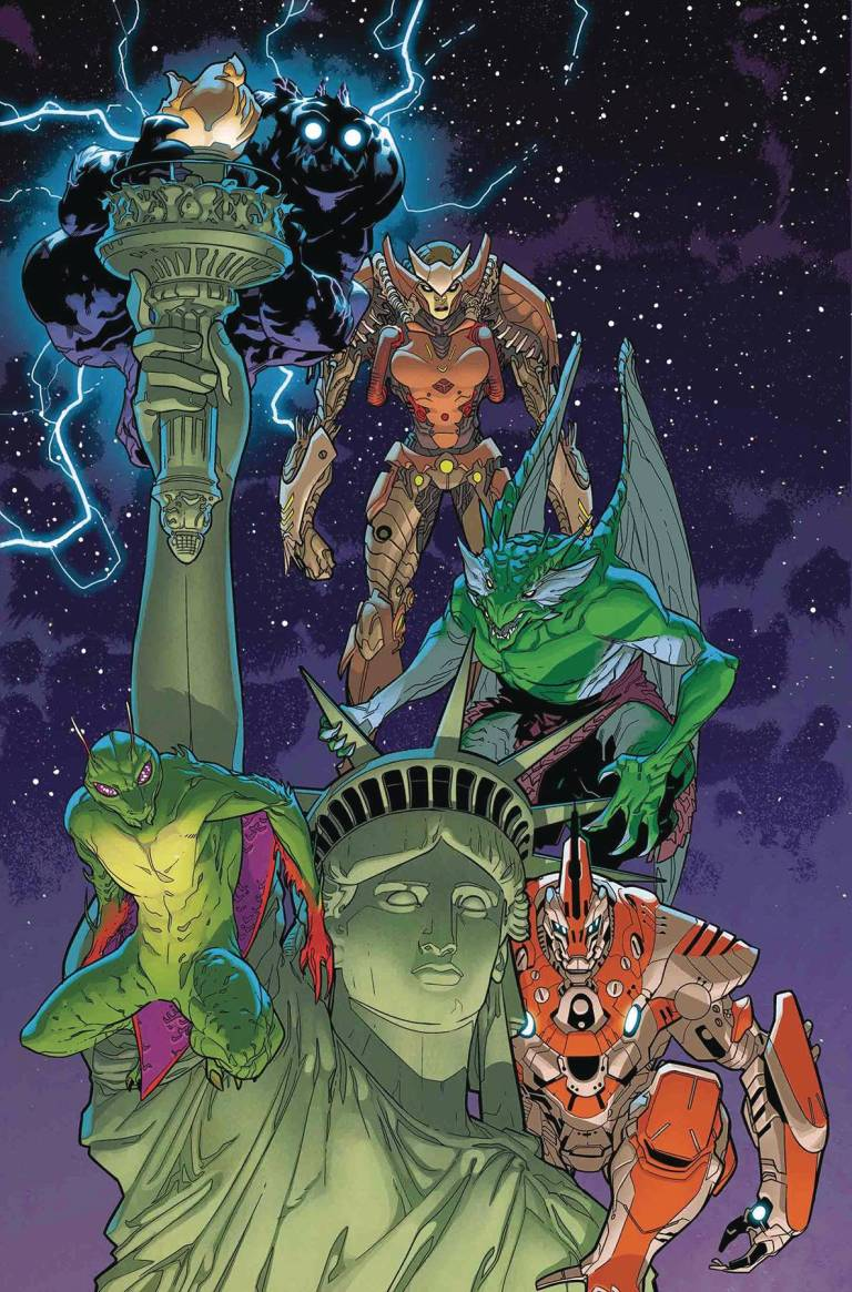 Monsters Unleashed #5 (RB Silva Cover)
