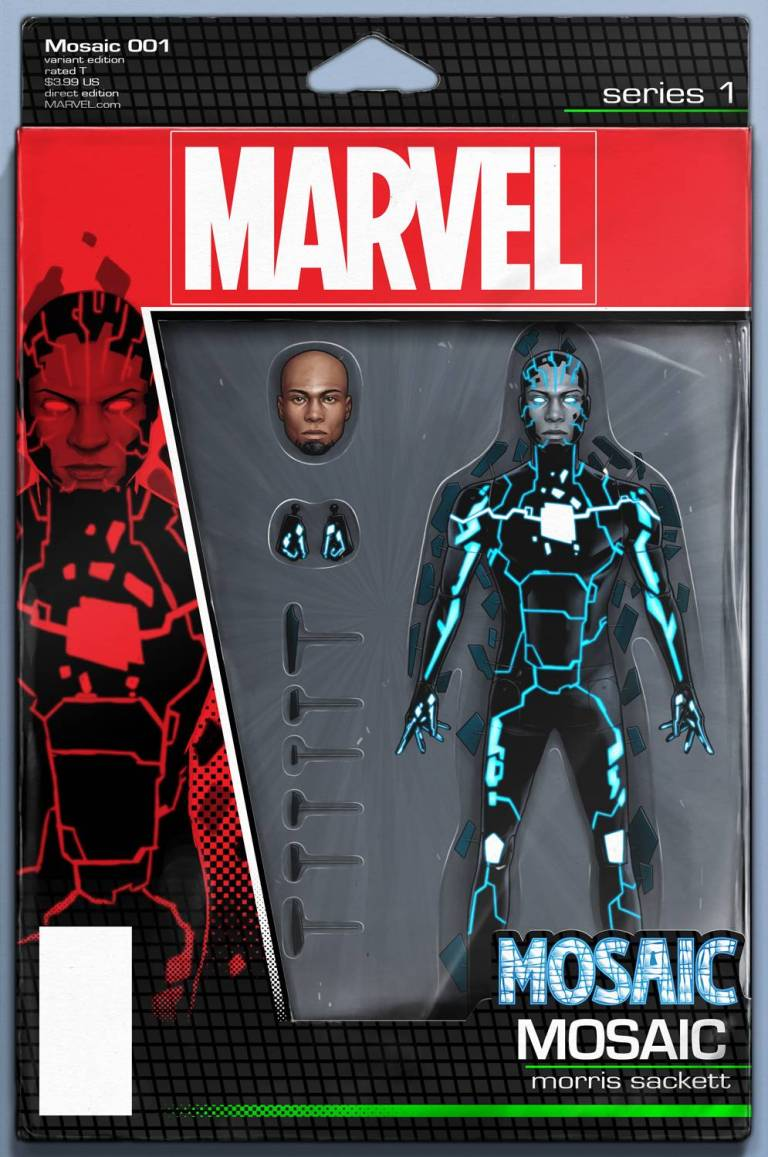 Mosaic #1 (John Tyler Christopher Action Figure Variant Cover)