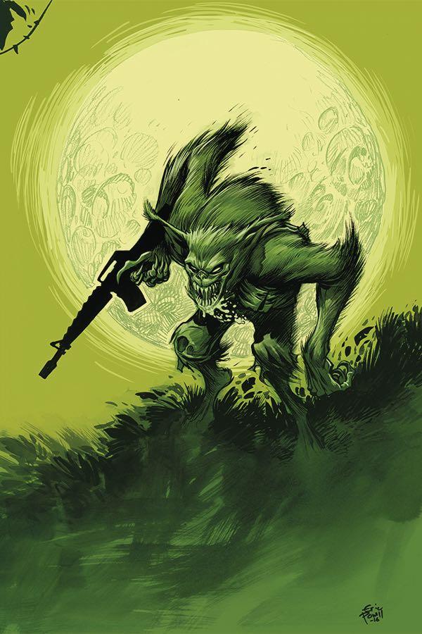 'Namwolf #1 (Eric Powell Cover)