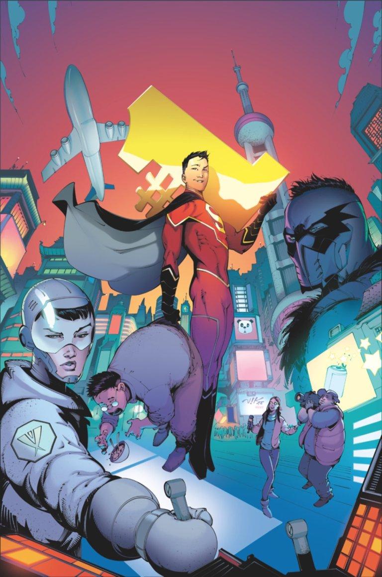 New Super-Man #1 (Cover A Viktor Bogdanovic)