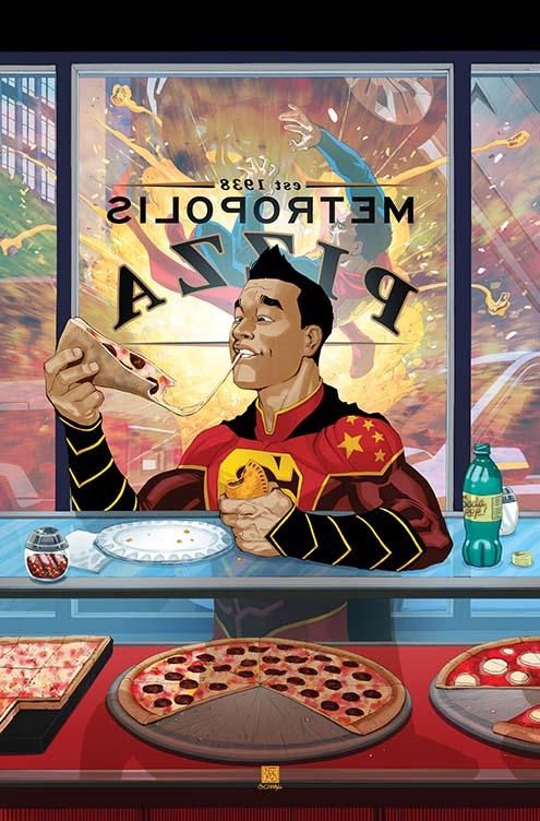 New Super-Man #10 (Cover B Bernard Chang)
