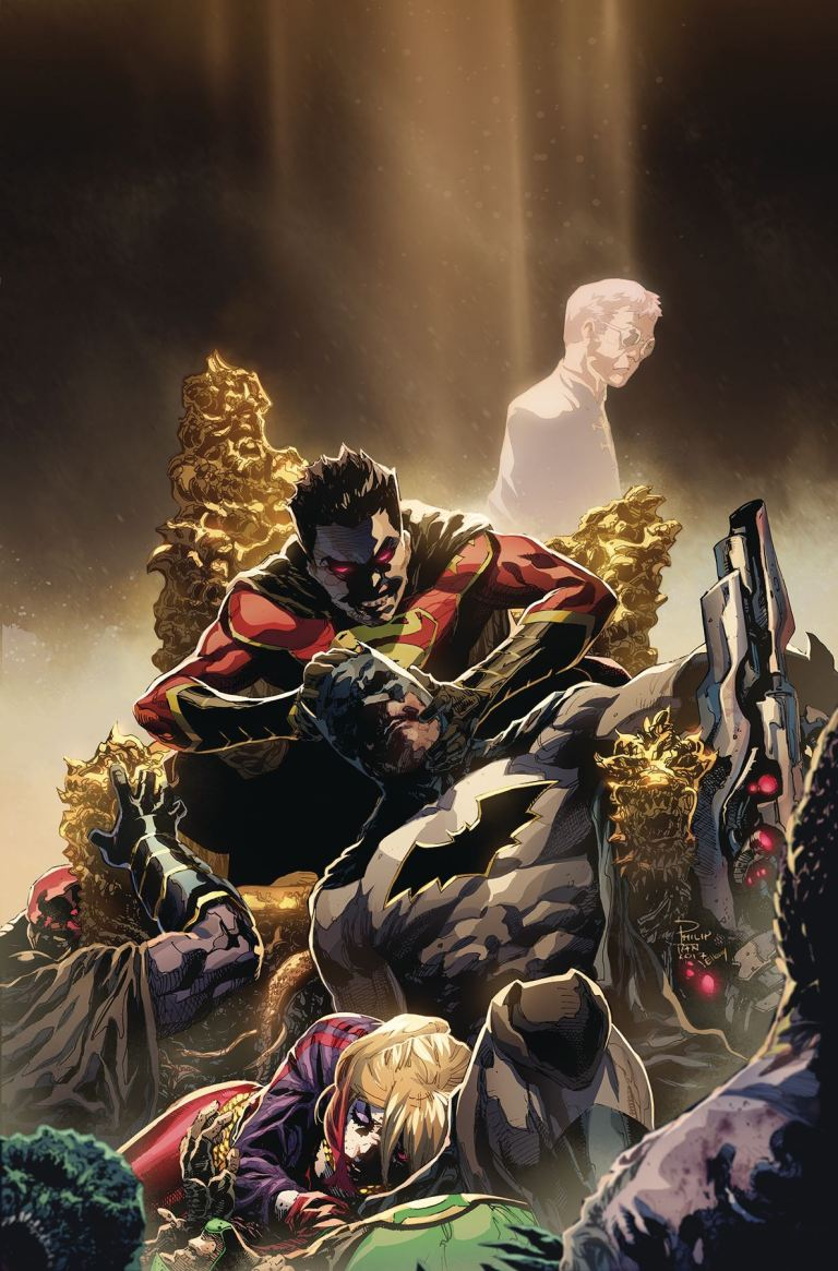New Super-Man #13 (Cover A Philip Tan)