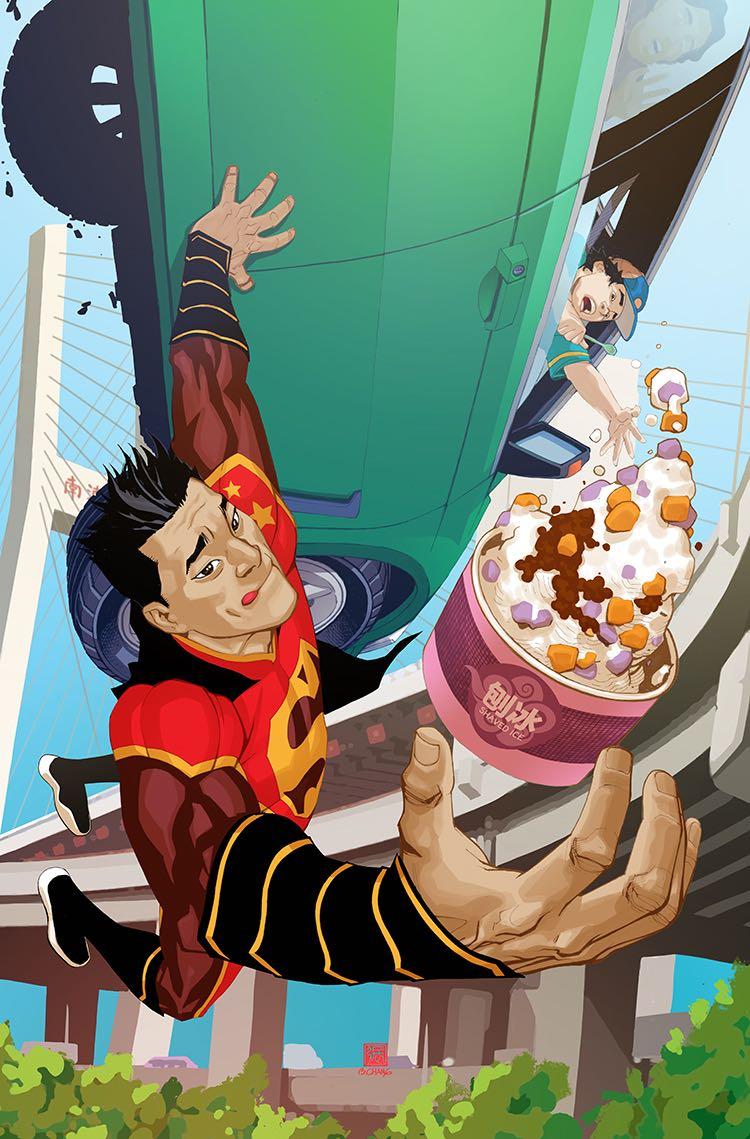 New Super-Man #13 (Cover B Bernard Chang)