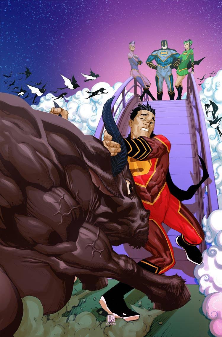 New Super-Man #14 (Cover B Bernard Chang)