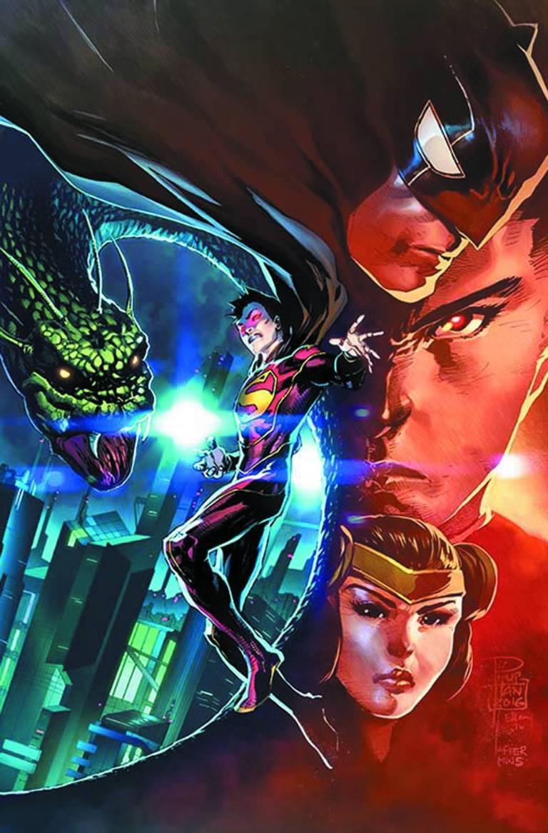 New Super-Man #3 (Cover B Bernard Chang)