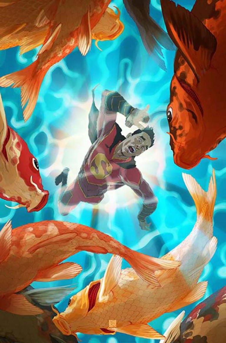 New Super-Man #4 (Cover B Bernard Chang)