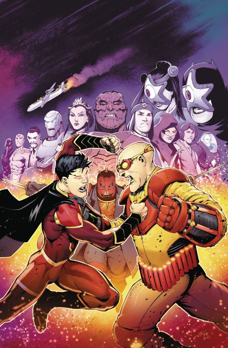 New Super-Man #6 (Cover A Viktor Bogdanovic)