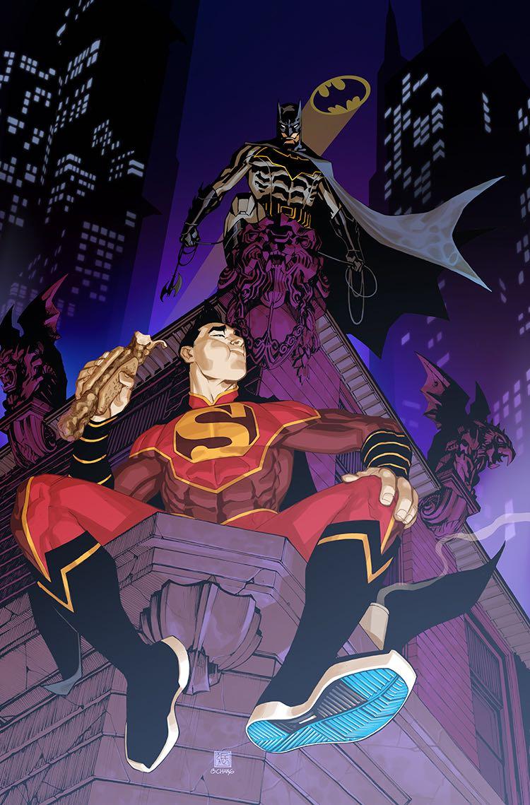 New Super-Man #7 (Cover B Bernard Chang)