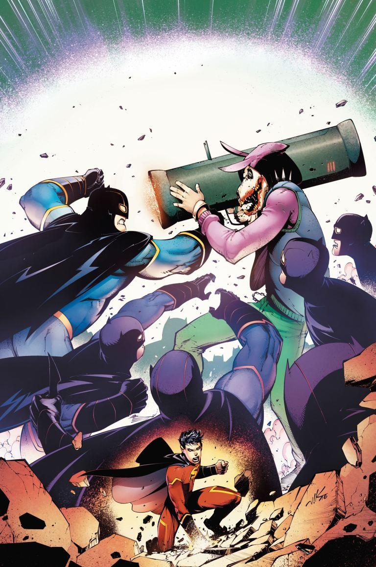 New Super-Man #8 (Cover A Viktor Bogdanovic)