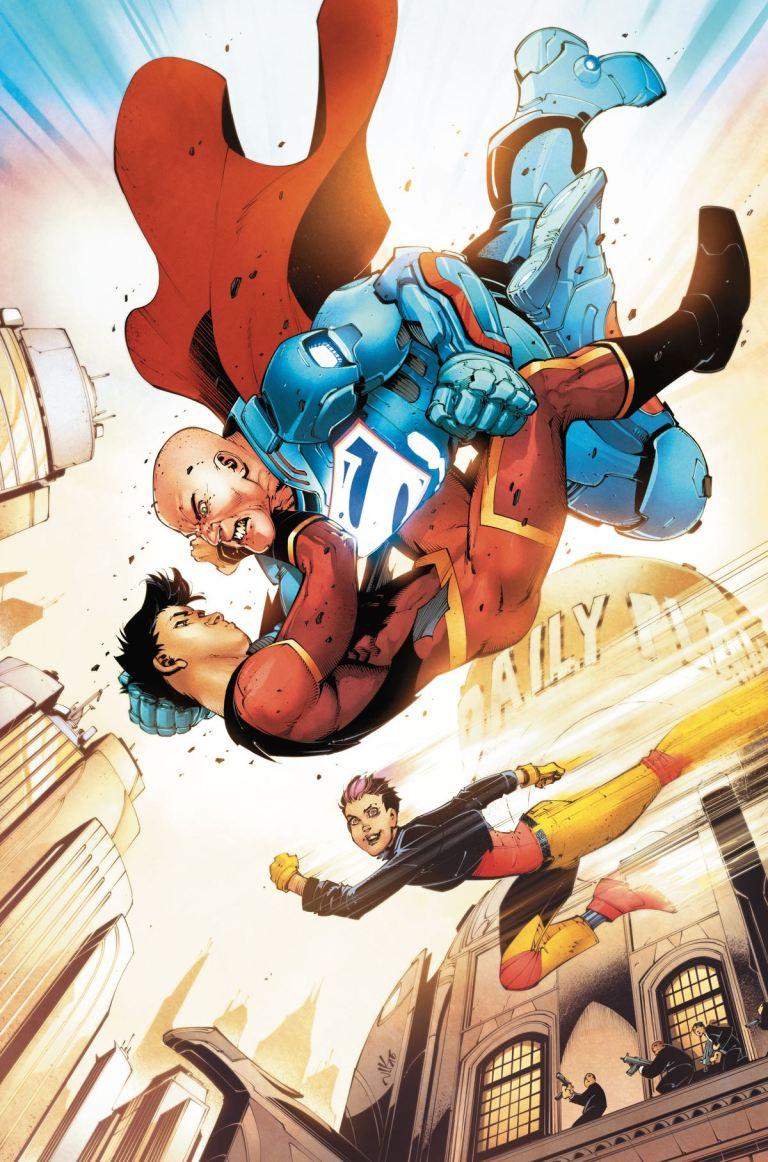 New Super-Man #9 (Cover A Viktor Bogdanovic)