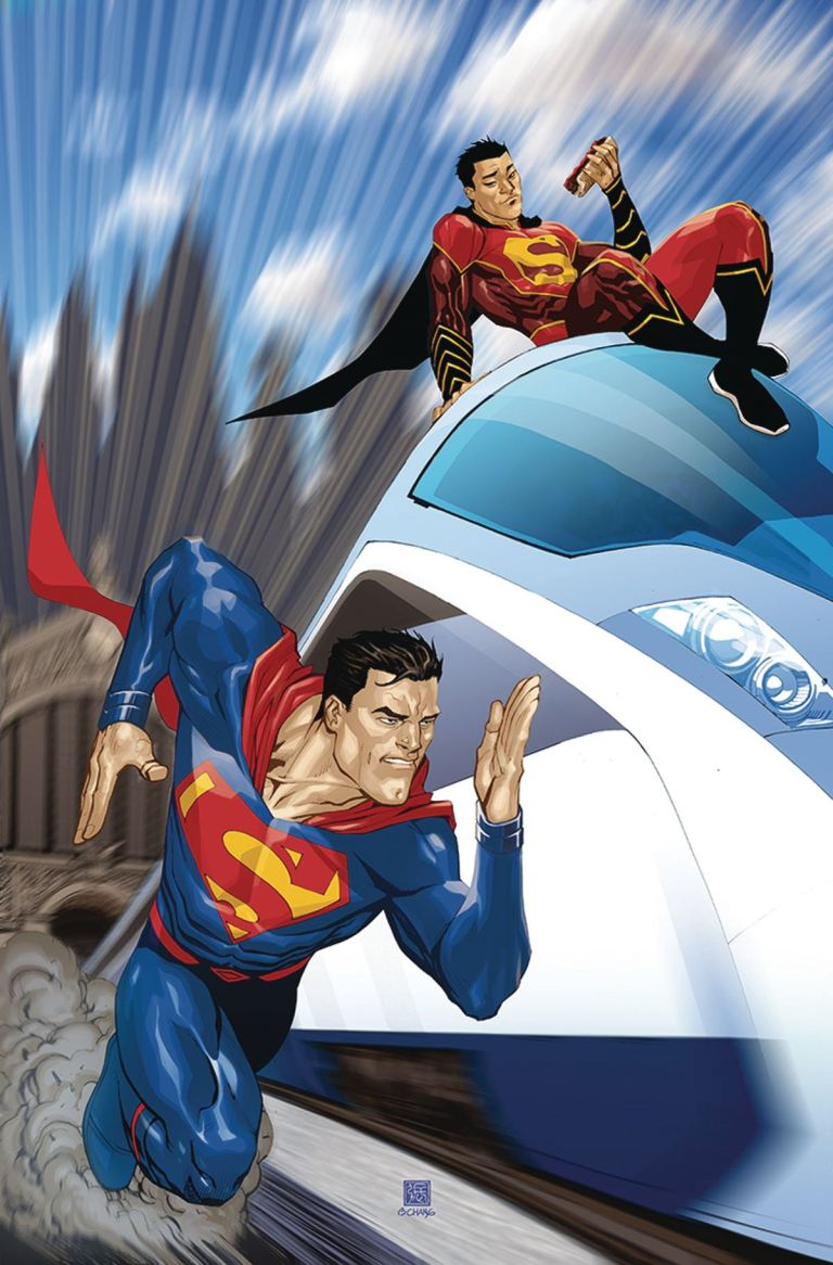 New Super-Man #9 (Cover B Bernard Chang)