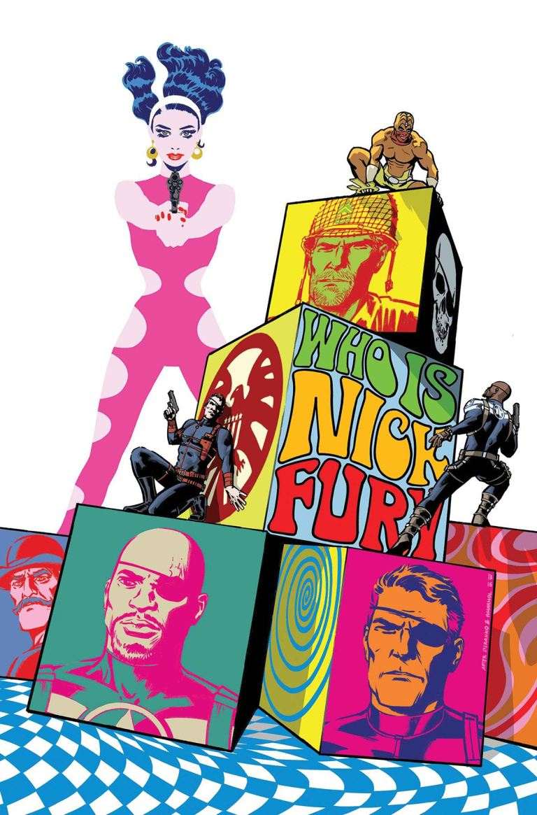 Nick Fury #3 (Cover B Fernando Blanco)