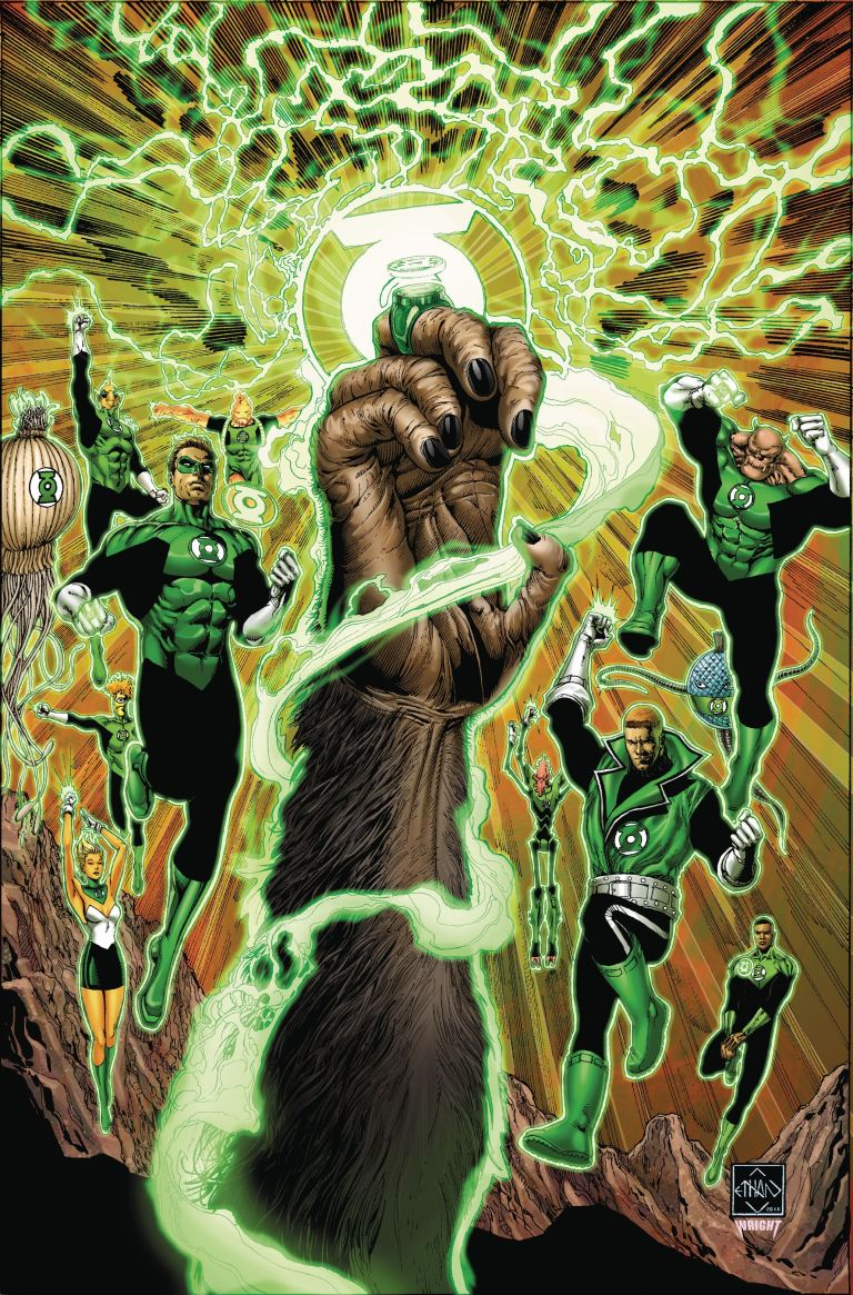 Planet Of The Apes Green Lantern #1 (Cover A Ethan Van Sciver)