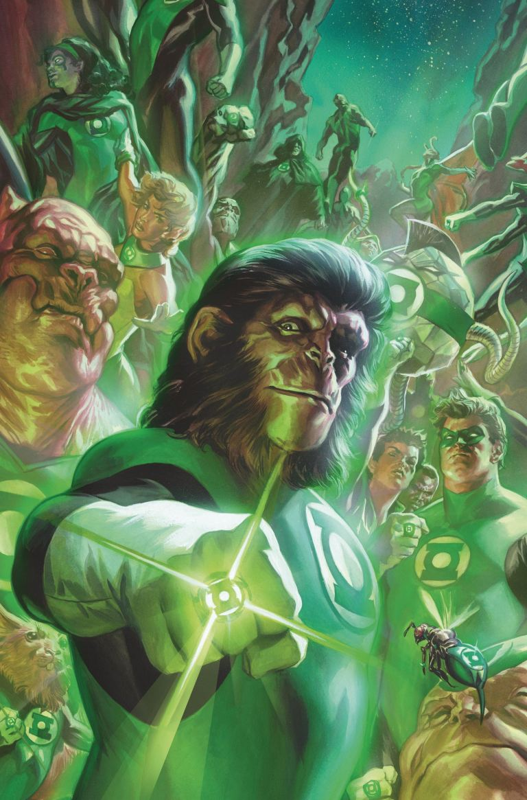 Planet Of The Apes Green Lantern #1 (Cover D Felipe Massafera)