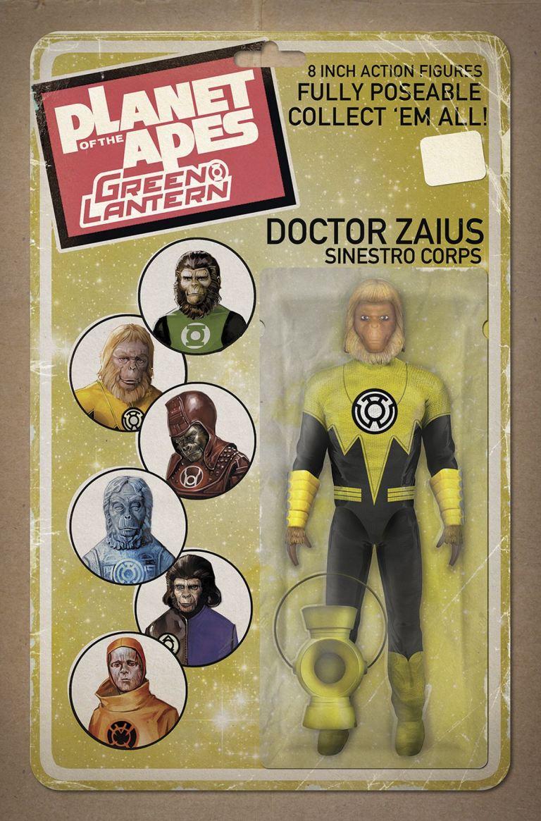 Planet Of The Apes Green Lantern #2 (Cover E David Ryan Robinson)