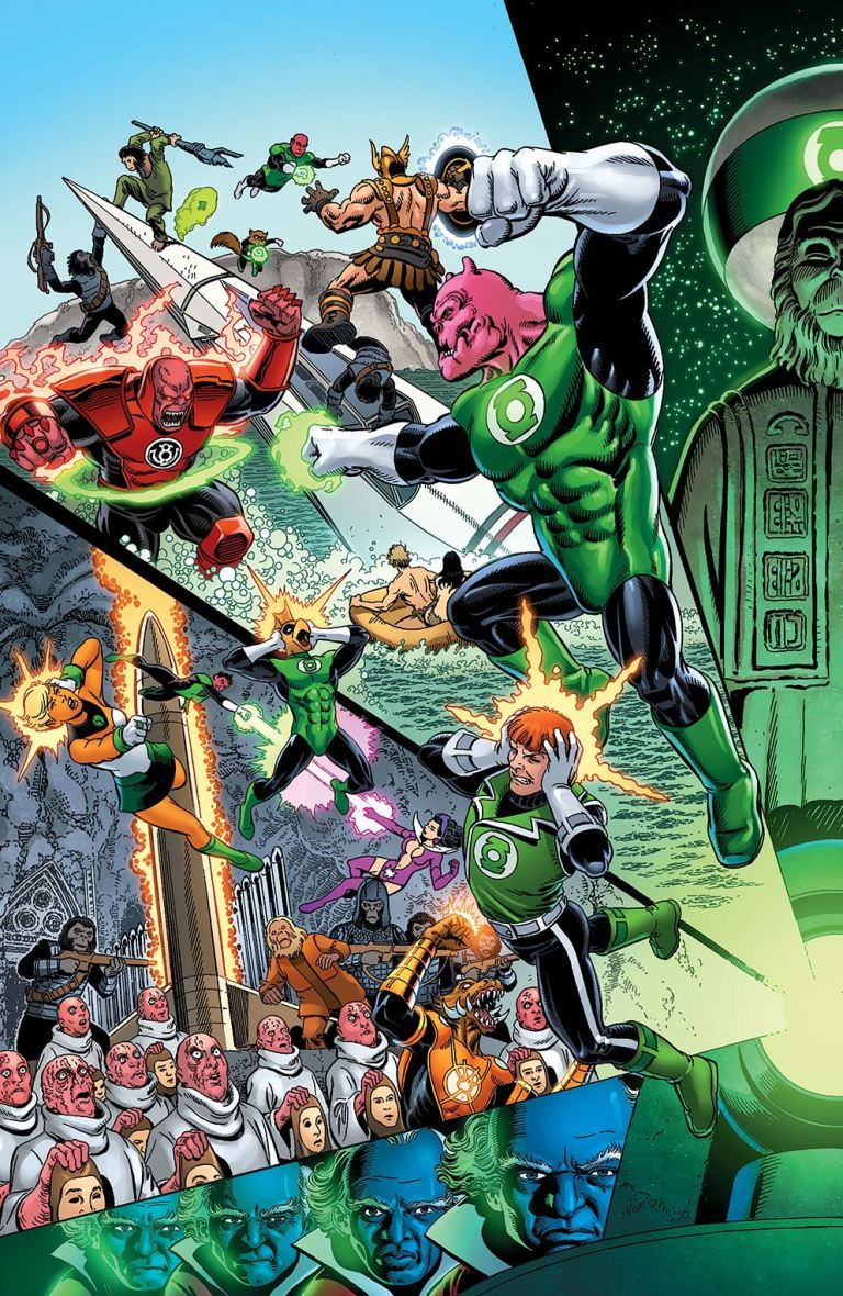 Planet Of The Apes Green Lantern #2 (Cover F George Perez & Jerry Ordway)