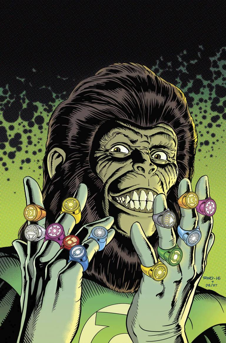 Planet Of The Apes Green Lantern #6 (Cover C Paul Rivoche Classic Variant)