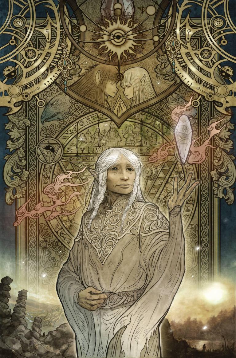 Power Of The Dark Crystal #1 (Cover B Sana Takeda)