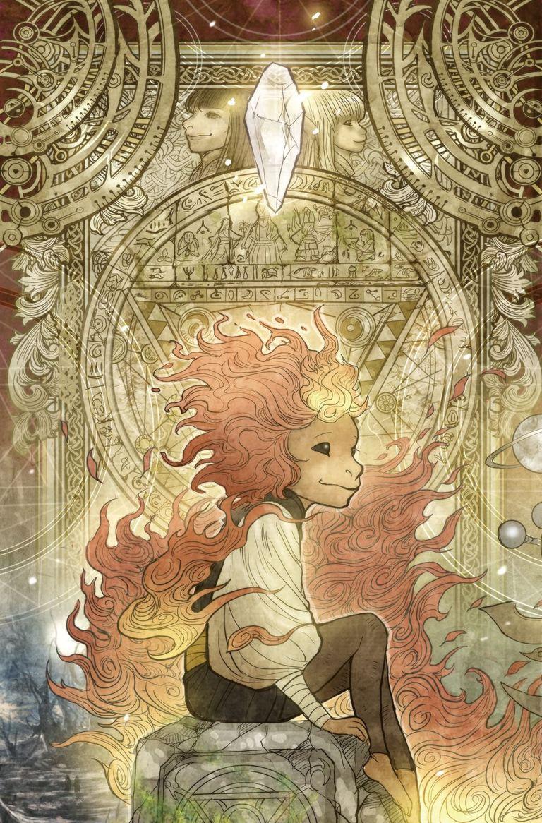 Power Of The Dark Crystal #4 (Cover B Sana Takeda)