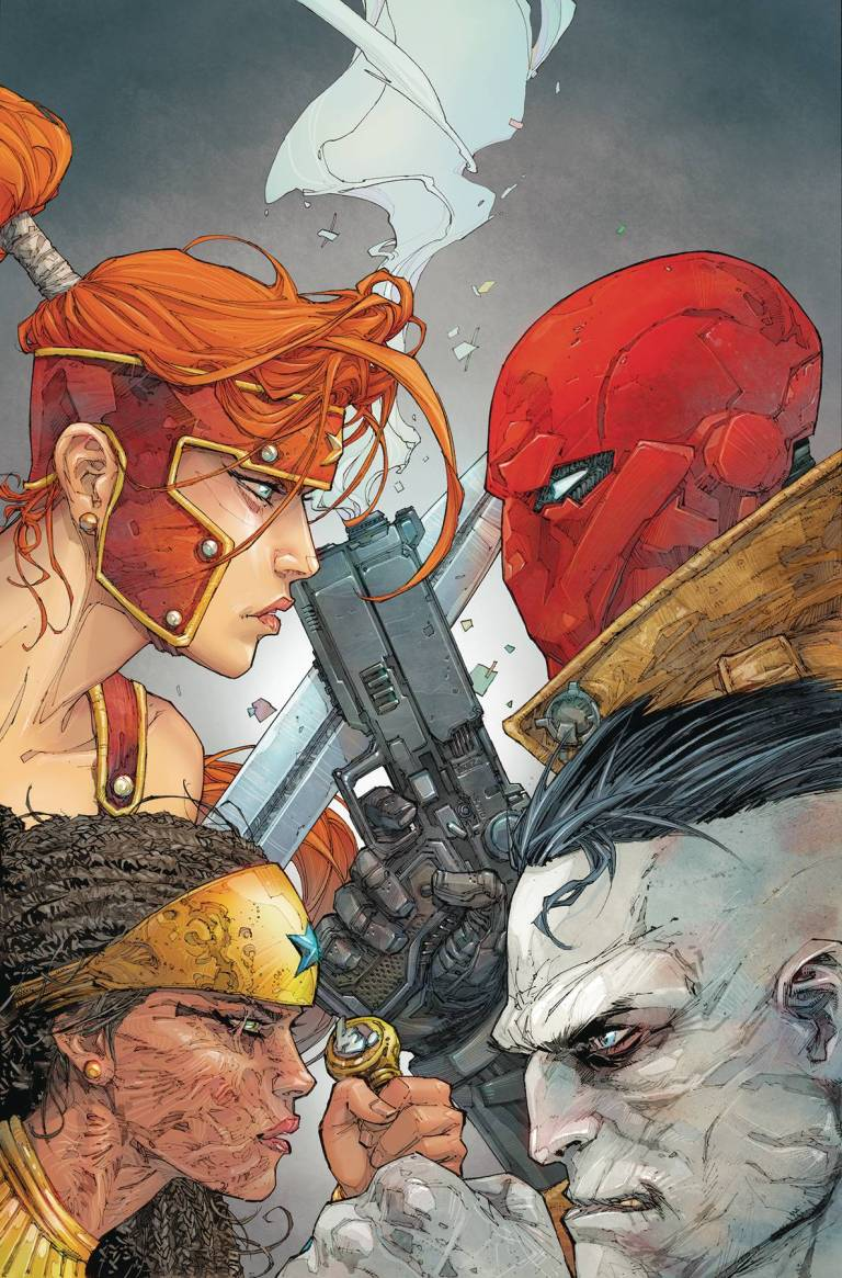 Red Hood And The Outlaws #11 (Cover A Kenneth Rocafort)