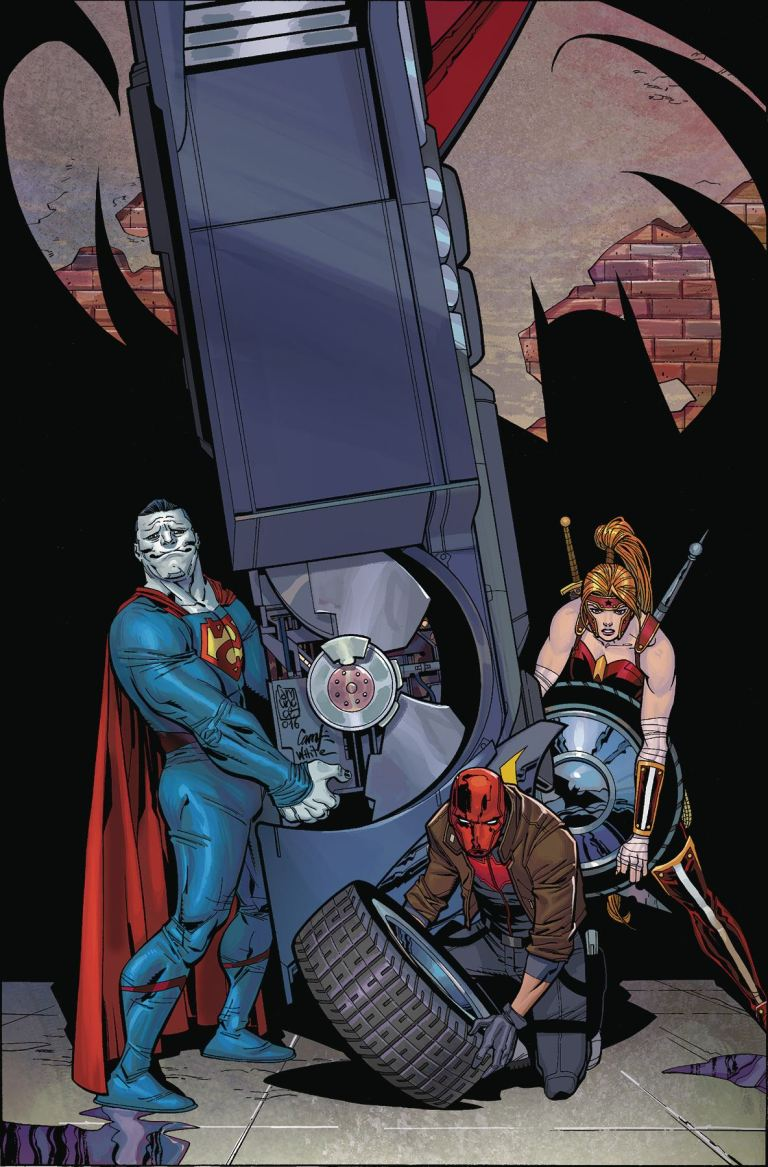 Red Hood And The Outlaws #6 (Cover A Giuseppe Camuncoli & Cam Smith)
