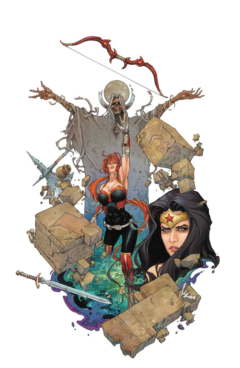 Red Hood And The Outlaws #8 (Cover A Kenneth Rocafort)