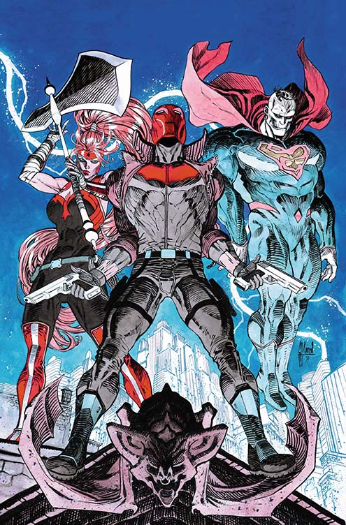 Red Hood And The Outlaws #9 (Cover B Guillem March)