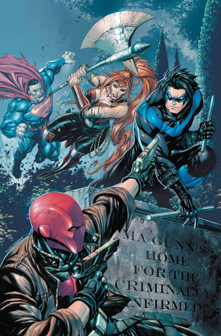 Red Hood And The Outlaws Annual #1 (Ken Lashley Cover)