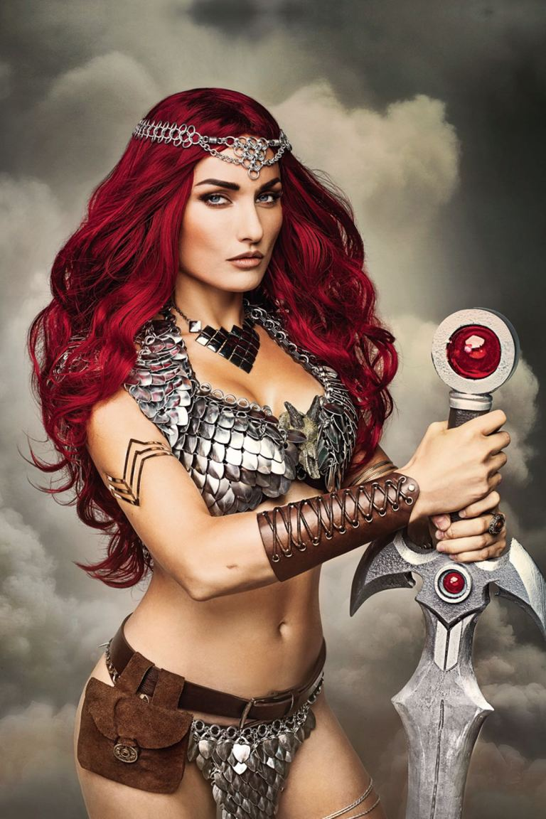 Red Sonja #3 (Cover F Cosplay Virgin Variant)