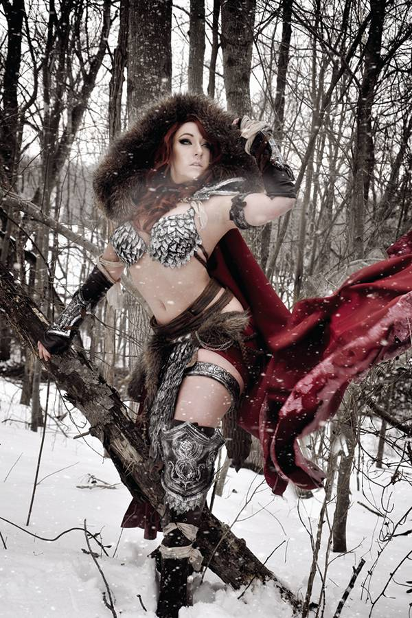 Red Sonja #6 (Cover F Cosplay Virgin Variant)