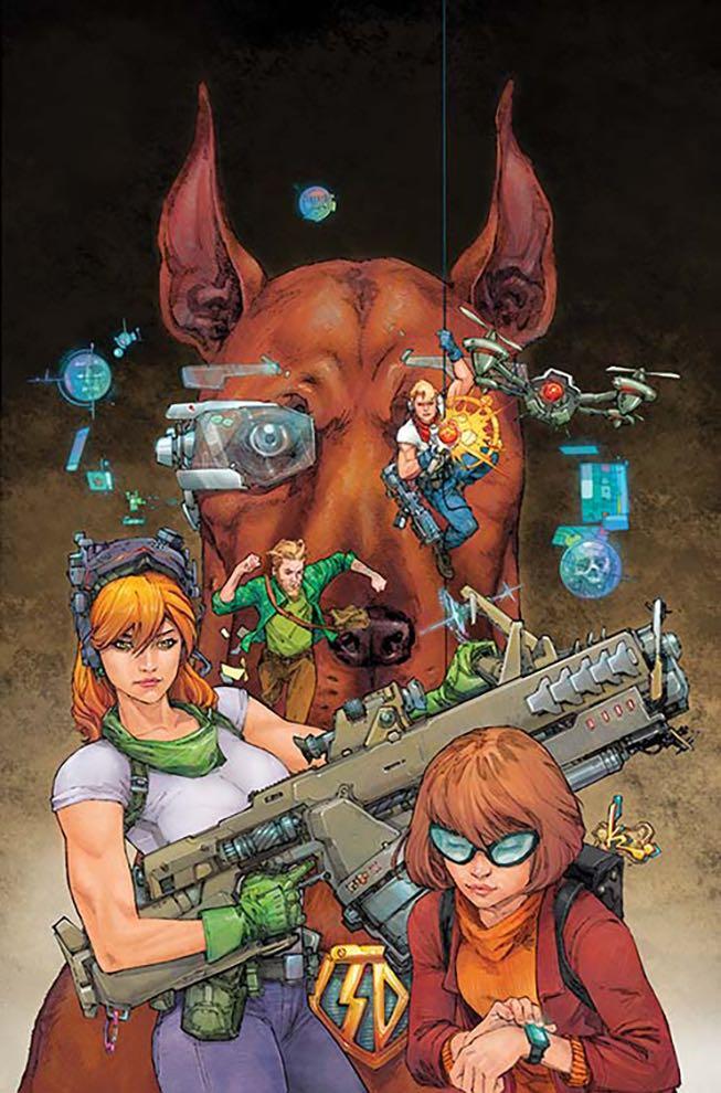 Scooby Apocalypse #11 (Cover B Yanick Paquette)