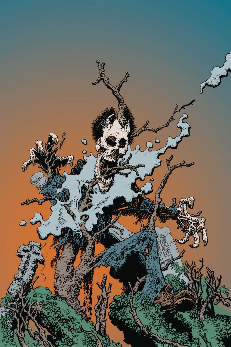 Shadows On The Grave #5 (Richard Corben Cover)